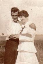 Leo and Bessie (Elizabeth) Dad's Parents 2